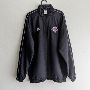 Adidas Black Dallas Cup XXXIX Jacket Size L